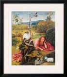 John de Baptist Prints by Hieronymus Bosch