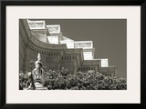 Cornice Details Framed Giclee Print by Christian Peacock