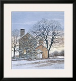 At Home Framed Giclee Print by Ray Hendershot