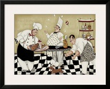 Kitchen Kapers II Print