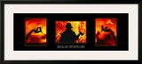 Valor: Firefighter Triptych Prints