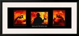 Valor: Firefighter Triptych Prints