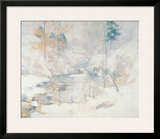 Winter Harmony Poster by John Henry Twachtman