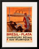 Bresil-Plata Prints by Sandy Hook