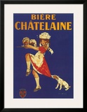 Bière Chatelaine Posters