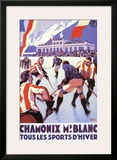 Chamonix Print