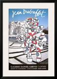 Expo Galerie Daniel Gervis II Print by Jean Dubuffet