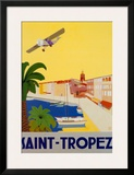Saint Tropez Art by  Chomel