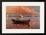 Gloucester Harbor Prints by Winslow Homer