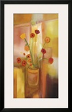 Comfort of Flowers Framed Giclee Print by Nancy Ortenstone