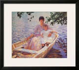 Mother And Child Prints by Edmund Charles Tarbell