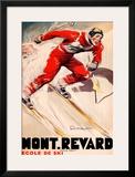 Mont Revard Poster by  Ordner