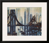 The Brooklyn-Bridge Prints by Marcel Gromaire