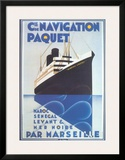 Cie De Navigation Paquet Prints