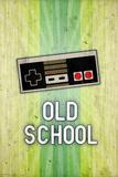Nintendo NES Old School Video Game Plastic Sign Plastskilt
