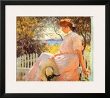 Eleanor Prints by Frank Weston Benson
