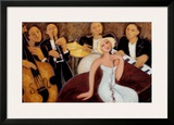 Quintet Posters by Marsha Hammel