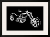 Custom Chopper Framed Giclee Print