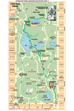 Michelin Official Central Park Map Poster Photo