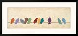 Birds Meeting Poster by Patricia Quintero-Pinto