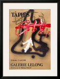 Galerie Lelong Posters by Antoni Tapies