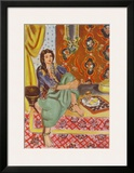 The Odalisque Print by Henri Matisse