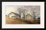 Tollgate Road Framed Giclee Print by Ray Hendershot