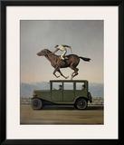 La Colere des Dieux Prints by Rene Magritte