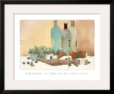The Art of Good Living Prints by Sam Dixon