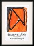 Dernieres Lithographies Poster by Bram van Velde