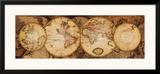 Map of the World: Nova Totius Terrarum Orbis Print
