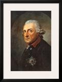 Friedrich II, der Grobe, Konig von Preuben Prints by Anton Graff