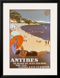Antibes Posters by Roger Broders