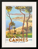 Ete Cannes Hiver Prints by  Peri