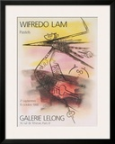 Pastels, 1988 Prints by Wilfredo Lam