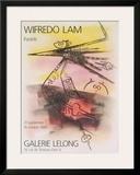Pastels, 1988 Lámina por Wilfredo Lam