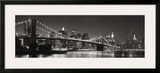 Brooklyn Bridge and Manhattan Skyline Posters by Graeme Purdy