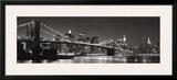 Brooklyn Bridge and Manhattan Skyline Posters by Graeme Purdy