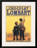Chocolat Lombart Posters