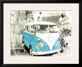 Hippie Van Prints by Bresso Sola