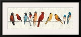 The Usual Suspects (Birds on a Wire) Art by Avery Tillmon