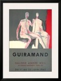 Le Couple - Galerie André Weil Posters by Paul Guiramand