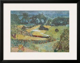 Landscape with Goods Train and Barges Posters by Pierre Bonnard