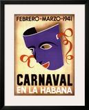 Carnaval, Habana, 1941 Print