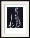 La Terrasse du Palais de Chaillot, Paris Poster by Robert Doisneau