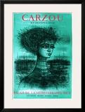 Princesse d'Azur Print by Jean Carzou
