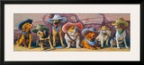 The Magnificent Seven Framed Giclee Print by Bryan Moon