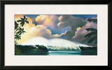 Tropical Dream Framed Giclee Print by Wade Koniakowsky