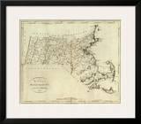 State of Massachusetts, c.1796 Art by John Reid