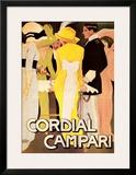 Cordial Campari Poster by Marcello Dudovich